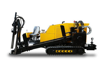 Yellow And Black HDD Drilling Machine For Underground Pipeline Laying